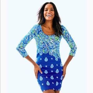 NWT Lilly Pulitzer Beacon Dress Twilight Blue